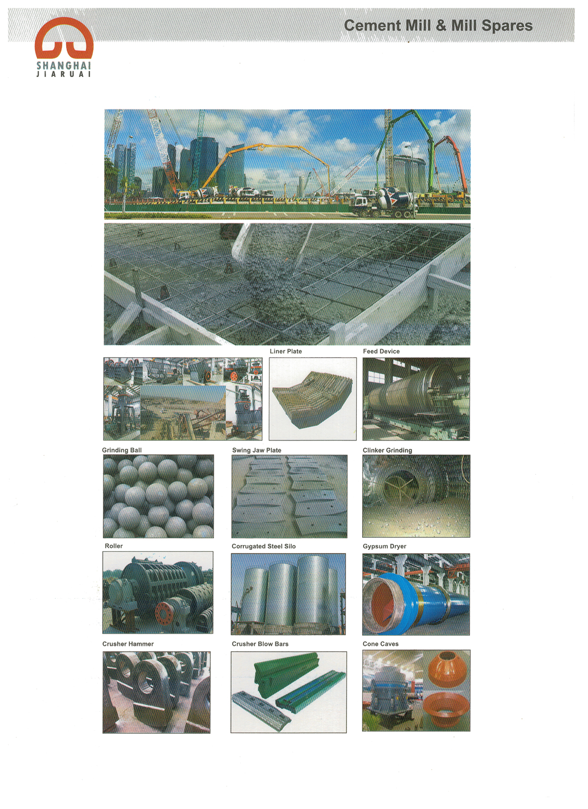 Cement Mill & Mill Spares