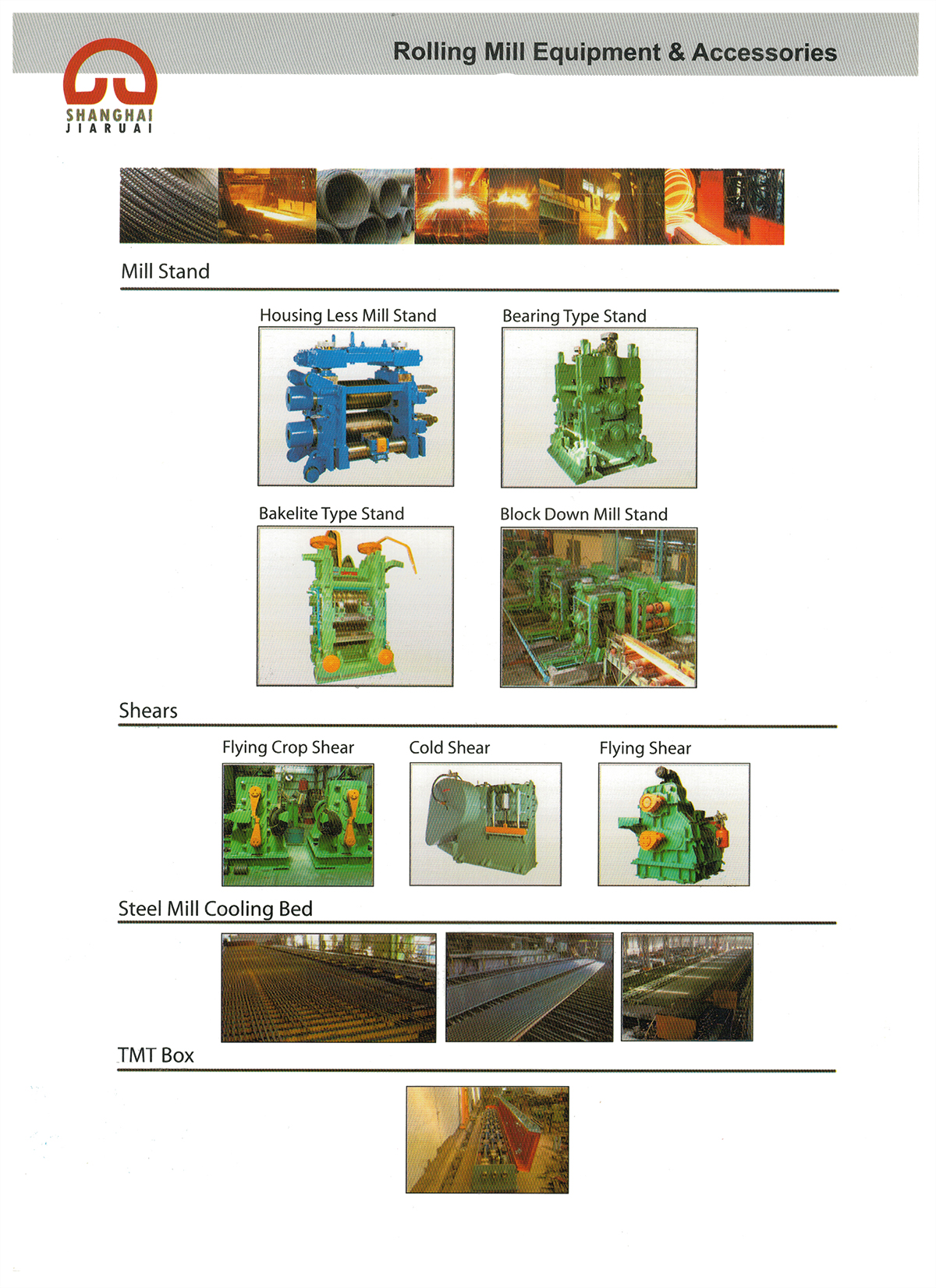 Rolling Mill Equipment & Accessories